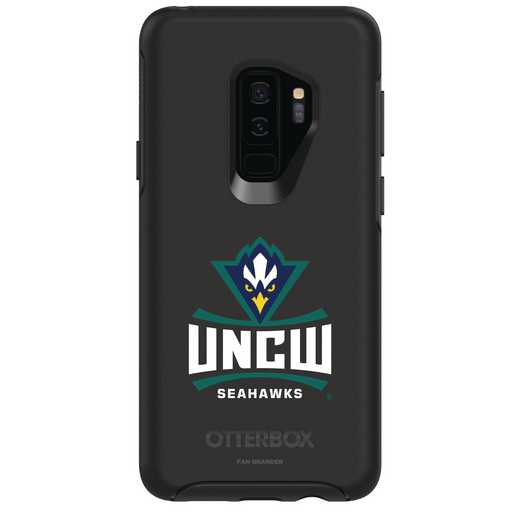 GAL-S9P-BK-SYM-UNCW-D101: FB UNC Wilmington OB SYMMETRY Case for Galaxy S9+